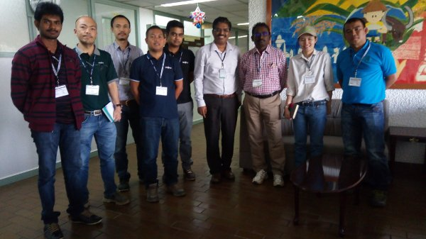 The Syngenta trainees met Dr. Jauhar Ali for Hybrid rice discussion at the IRRI HQ.