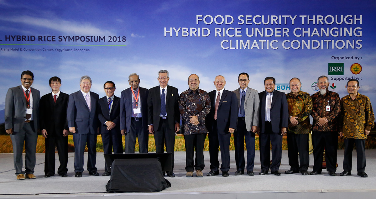 Symposium tackles Indonesia hybrid rice opportunities